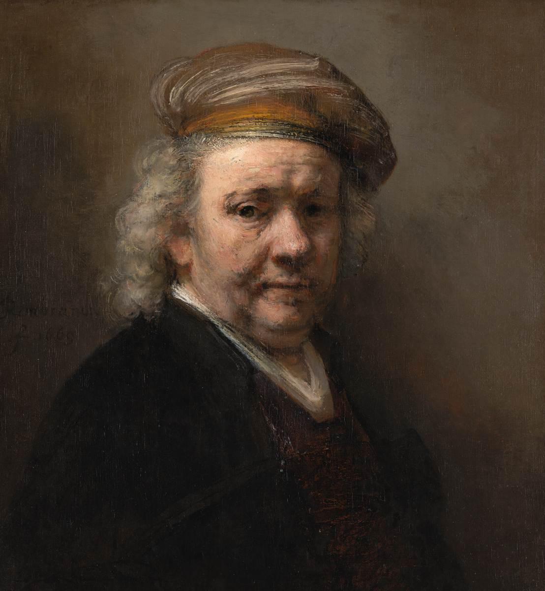 640 - Interview -1669 zelfportret - 0840_repro - Beeld Mauritshuis, Den Haag