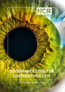 Omslag Governance code for cooperatives 2019